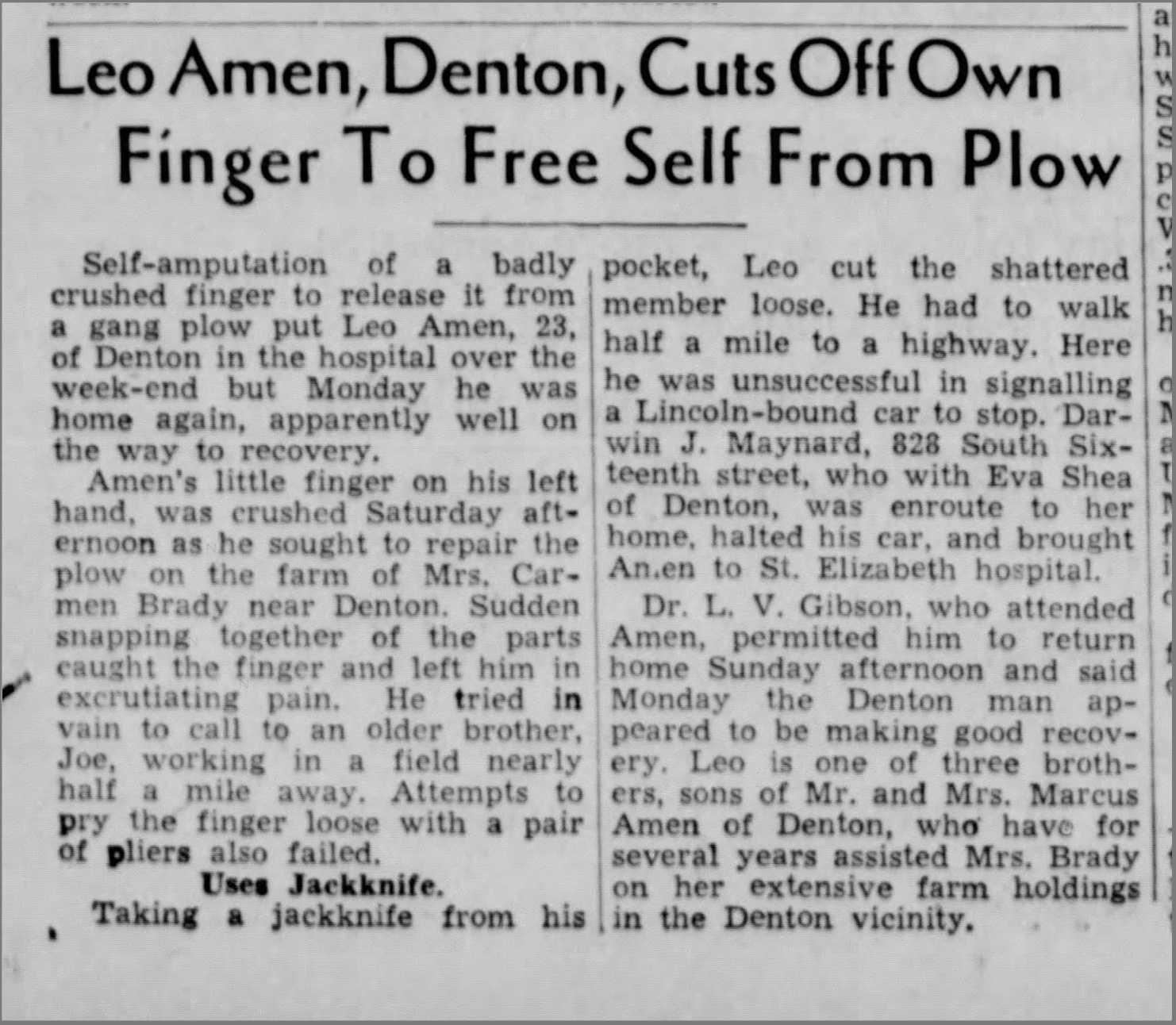 The Lincoln Star (Lincoln, Nebraska) - May 25, 1936