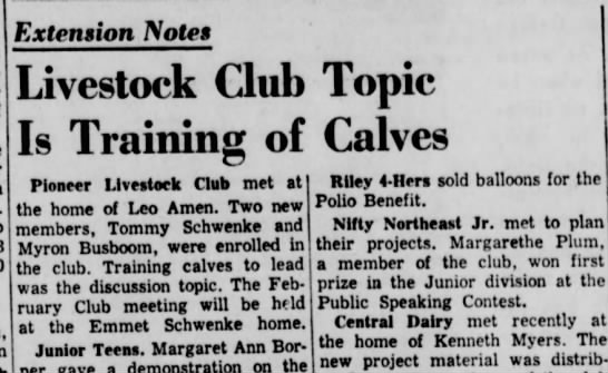 Lincoln Star Journal (Lincoln, Nebraska) - February 12, 1955