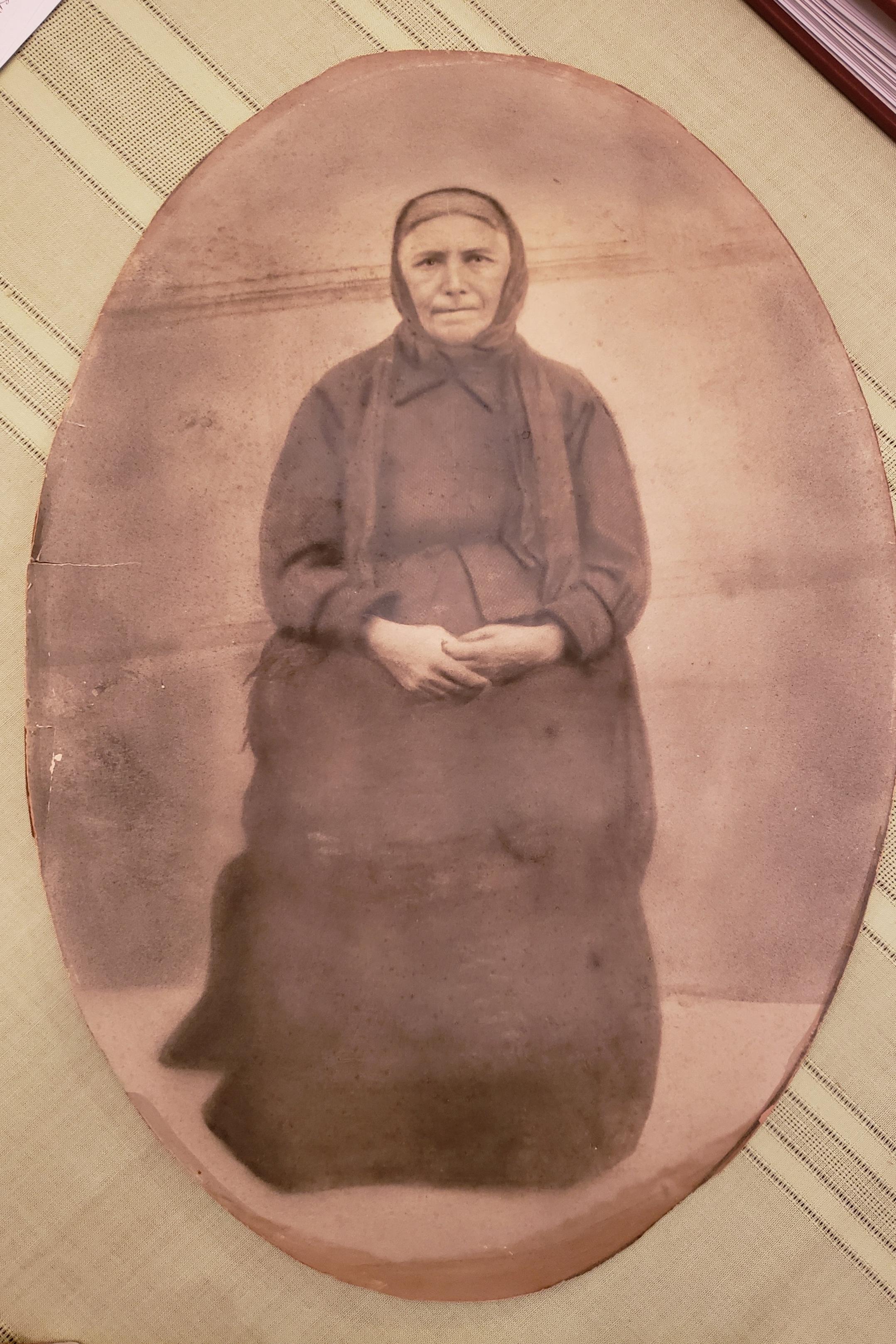 Anastasia, mother of Vassilios Karatzis