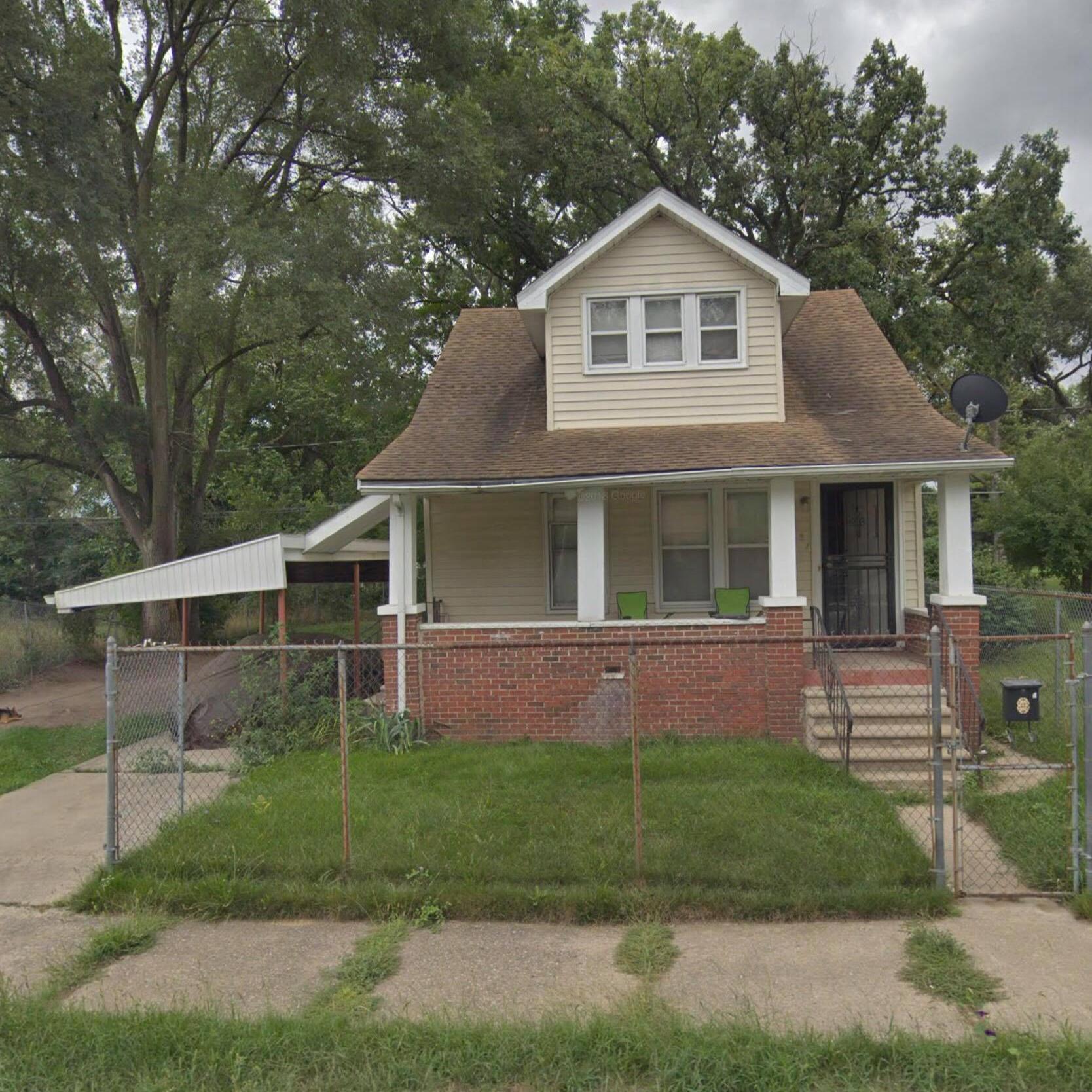 The Karr family home in 1930 at 8551 Ellsworth Avenue, Detroit