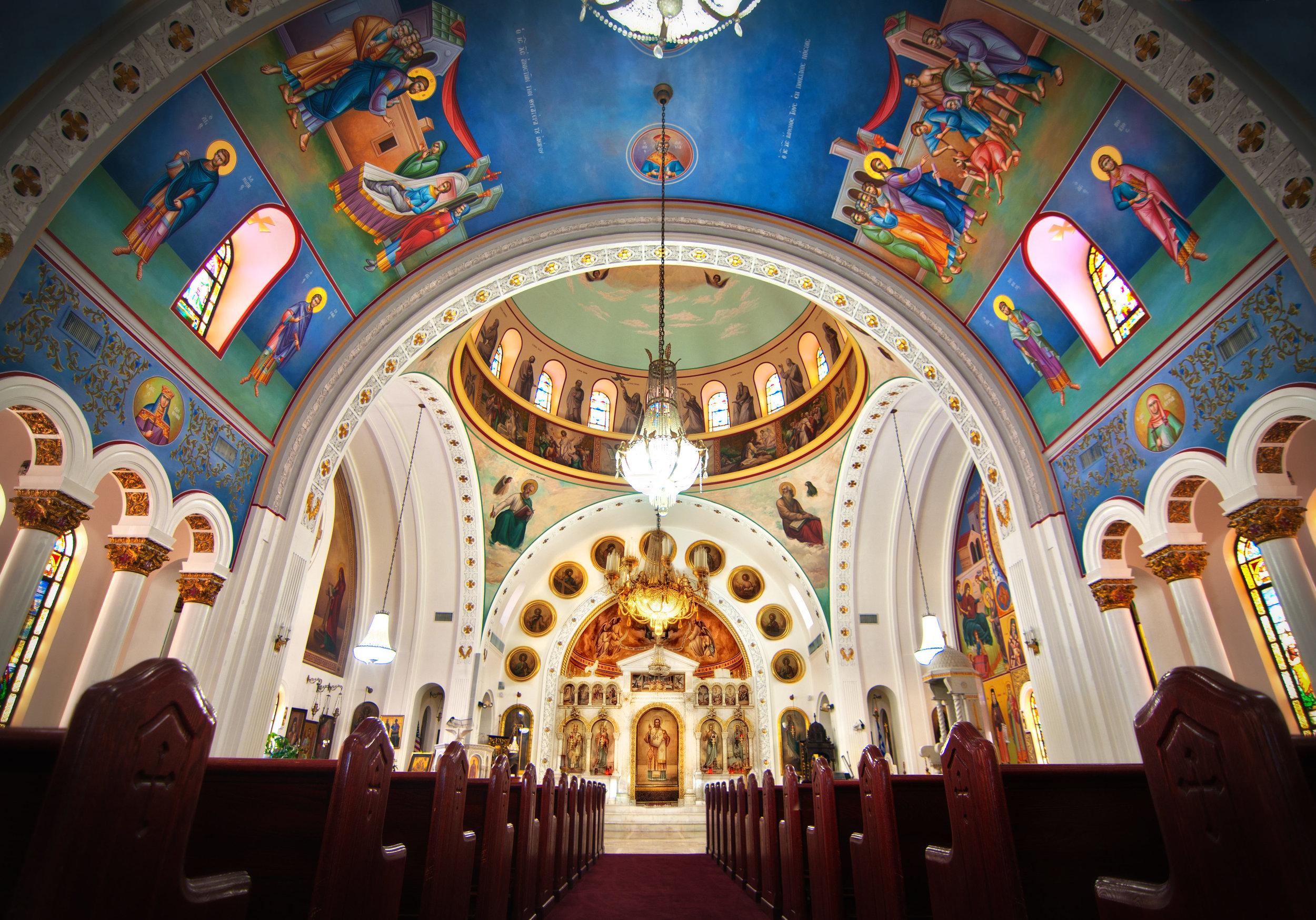 St. Nicholas Greek Orthodox Cathedral - Tarpon Springs, FL