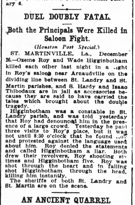 The Houston Post, Houston, TX - December 27, 1909