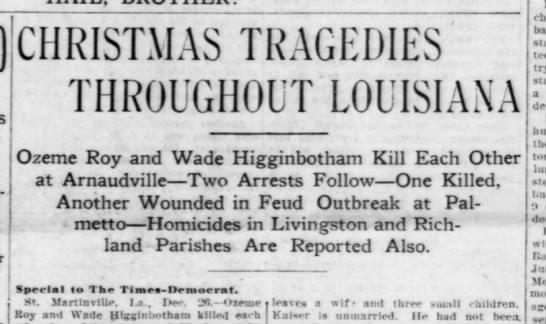 The Times-Democrat, New Orleans, LA - December 27, 1905