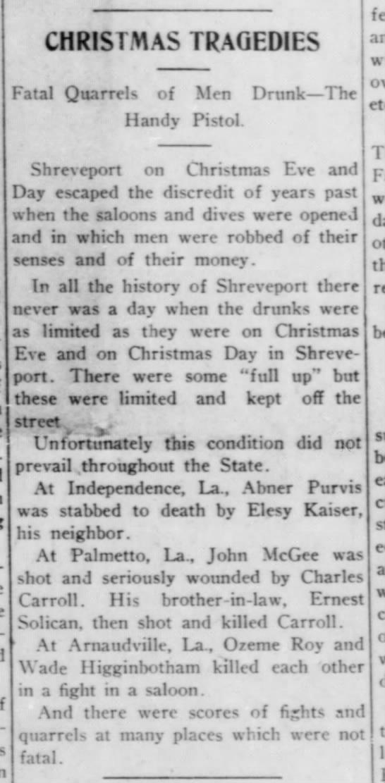 The Weekly Caucasion of Shreveport, LA - December 30, 1909