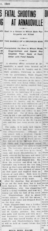 The Crowley Signal, Crowley, LA - January 1, 1910