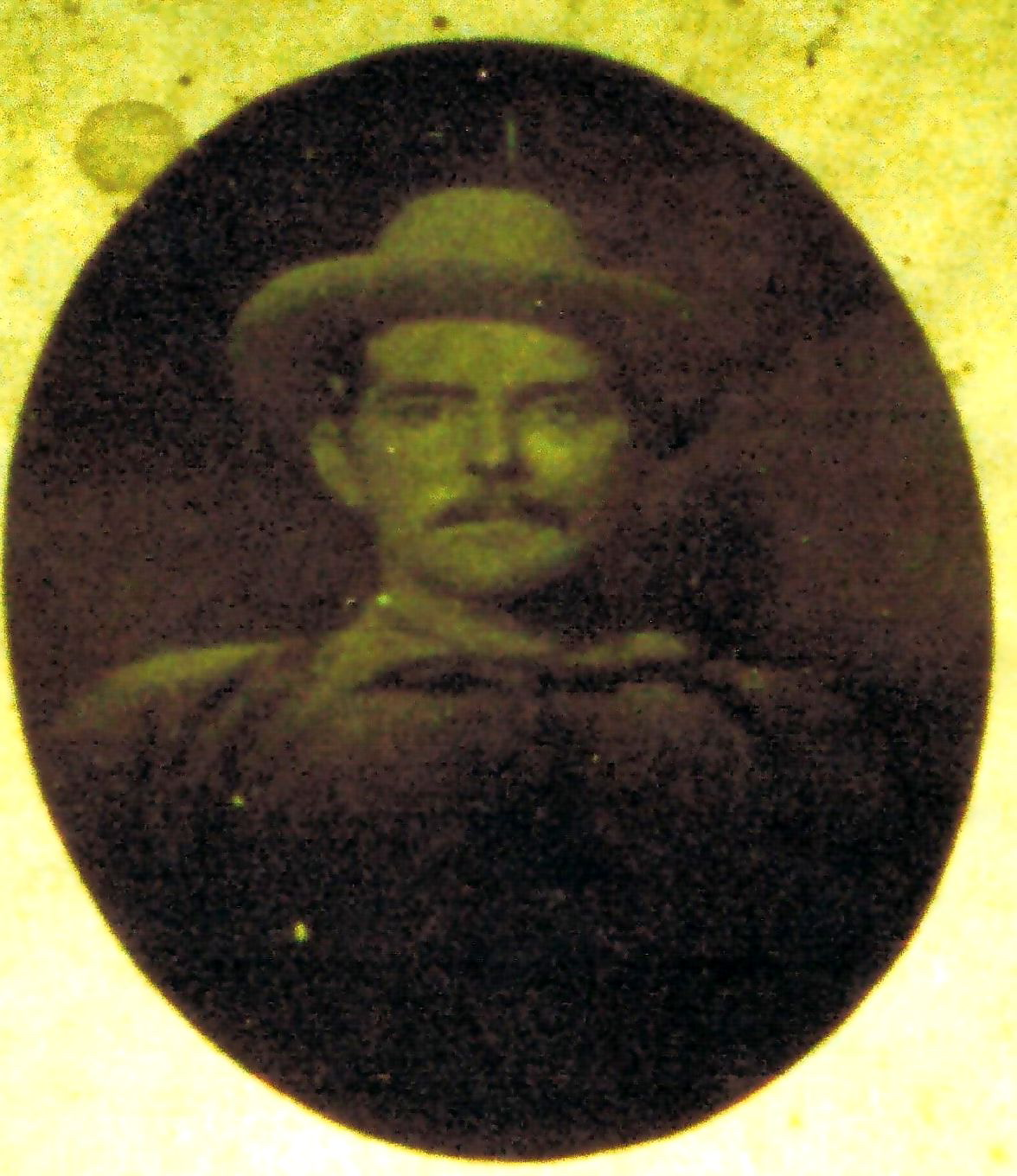 Undated photo said to be of Ozeme Roy (1862-1909)