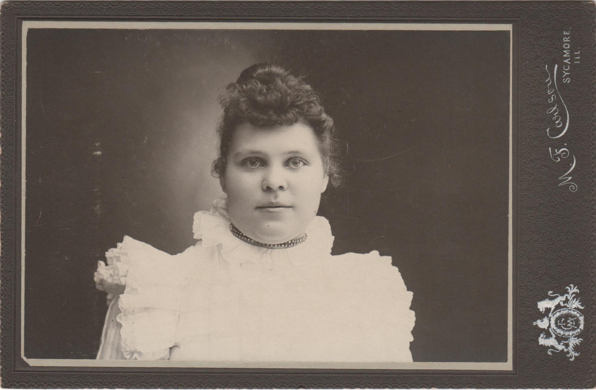 """""""Victoria Kallman"""", 1898"""