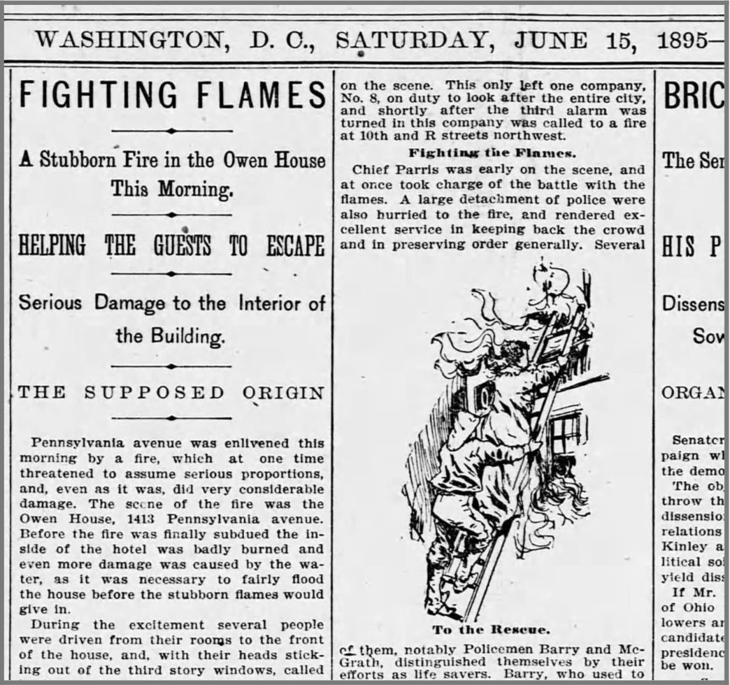Evening Star (Washington, D.C.) - June 15, 1895