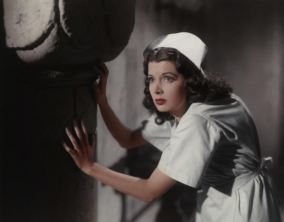 """Jane Adams (1918-2014) in """"House of Dracula"""" (1946)"""