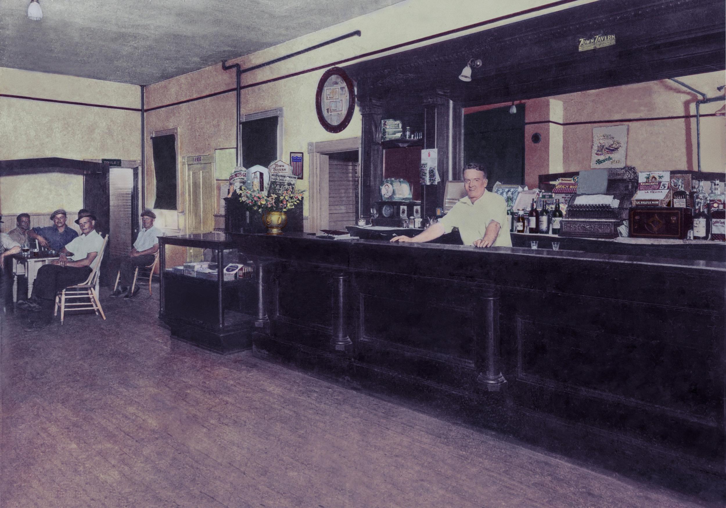 Hanley Bar - Atlantic Mine, Michigan (1930s)