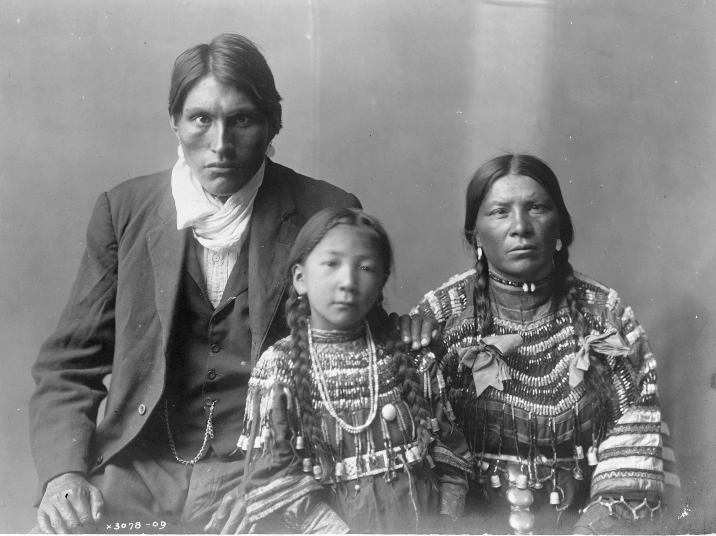 Reuben Black Boy and family