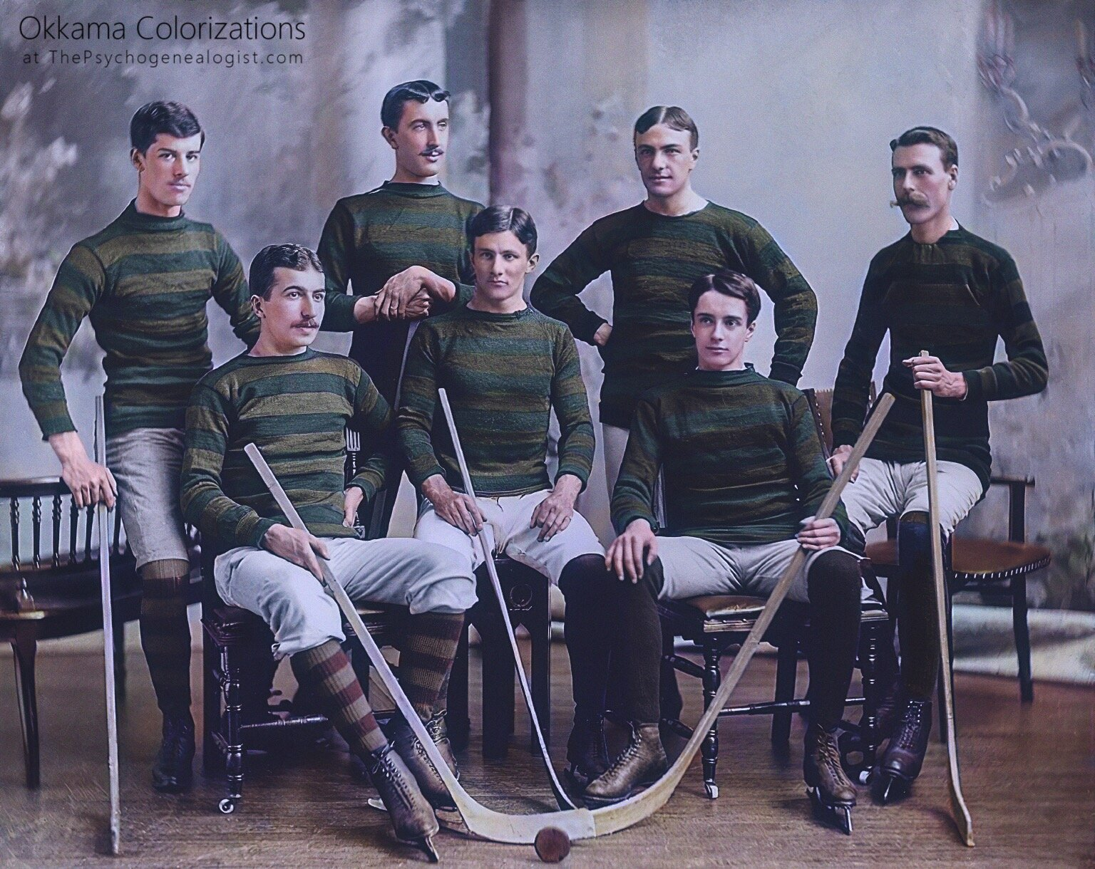 Bank of Montreal Hockey Team (1895)