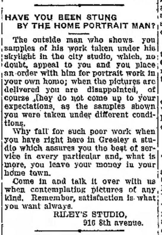 The Greeley Daily Tribune - November 2, 1916