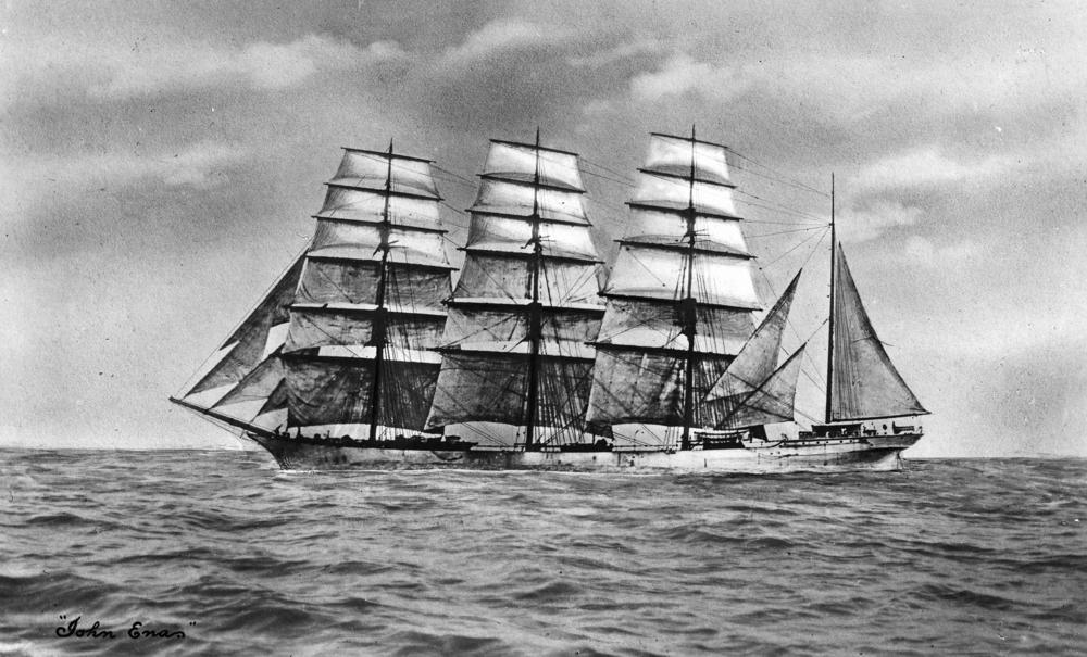 Photo:   John Ena (ship)