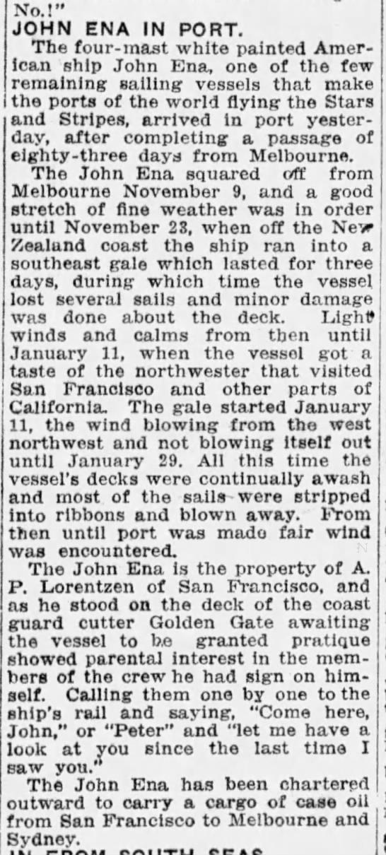 The San Francisco Examiner - January 31, 1916
