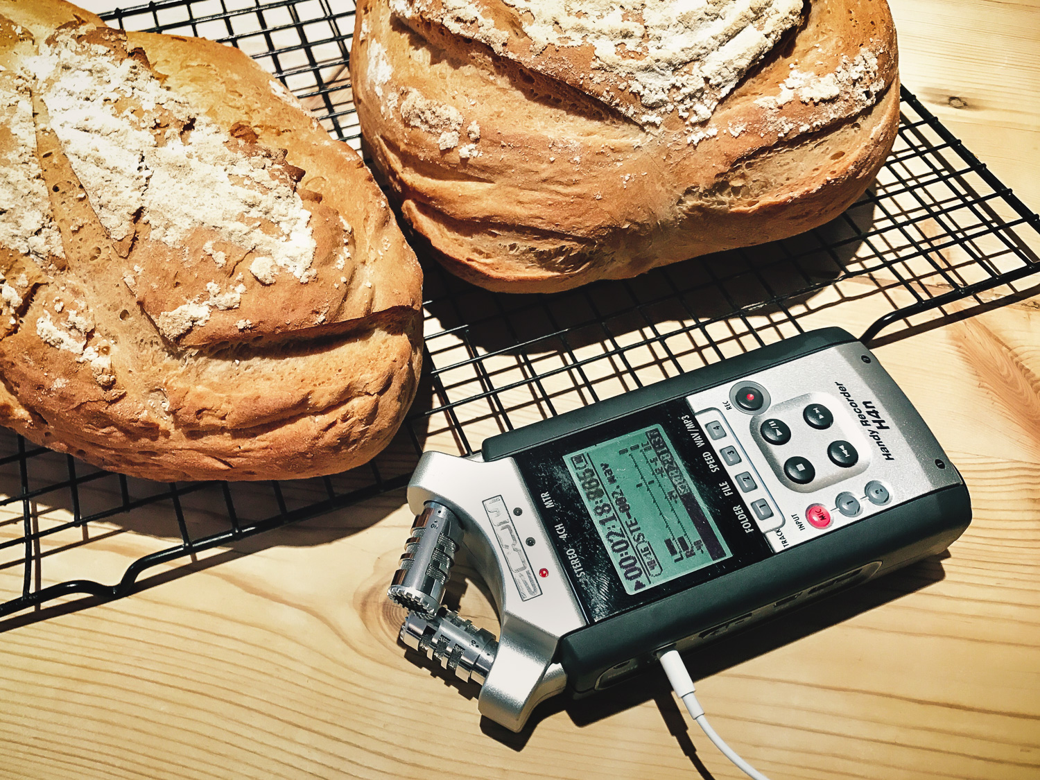First attempt at sound recording