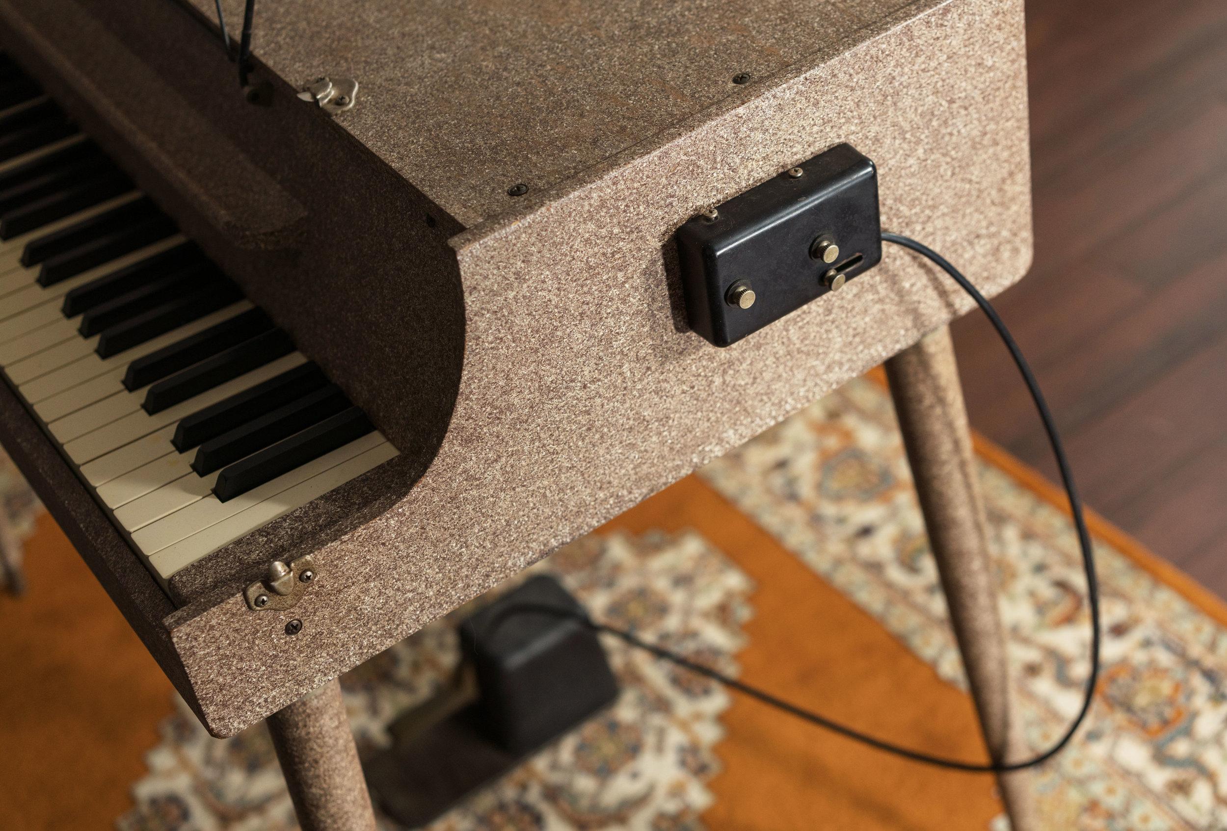 Wurlitzer 112 pedal
