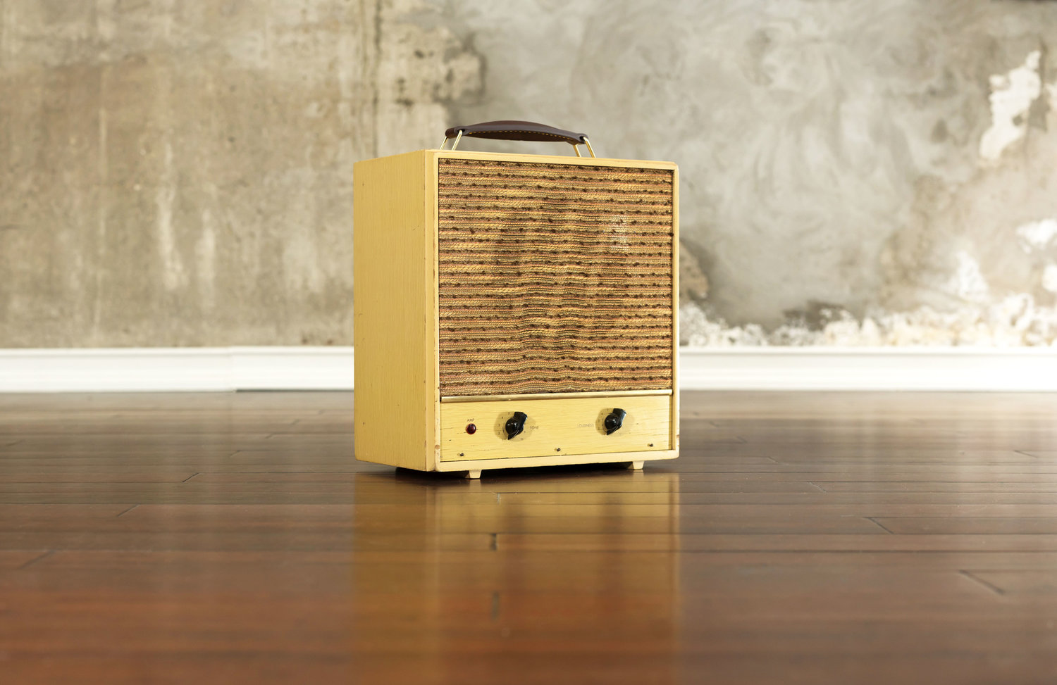 Sears Hi Fi Amp Side View