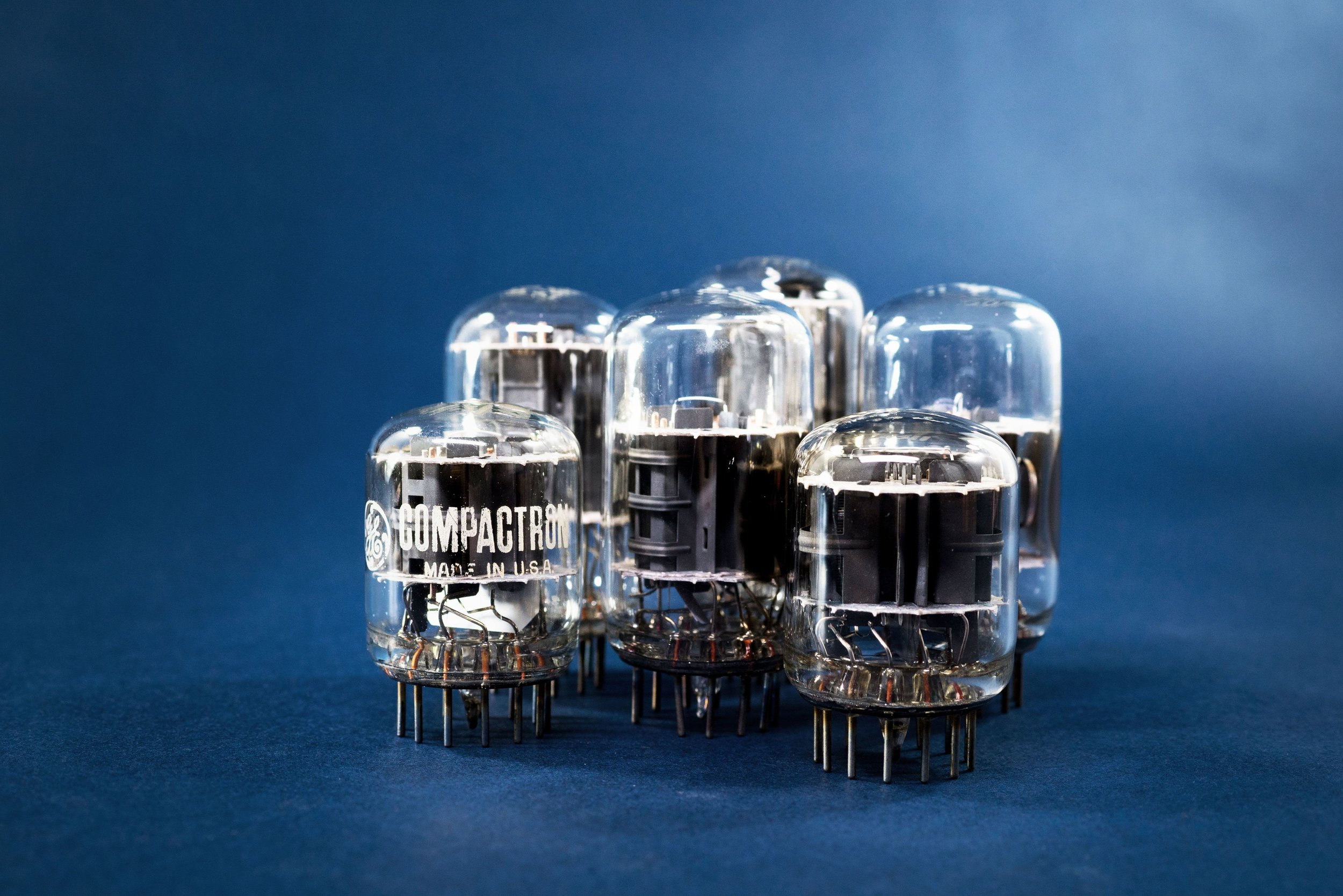Group of Small Compactron Tubes