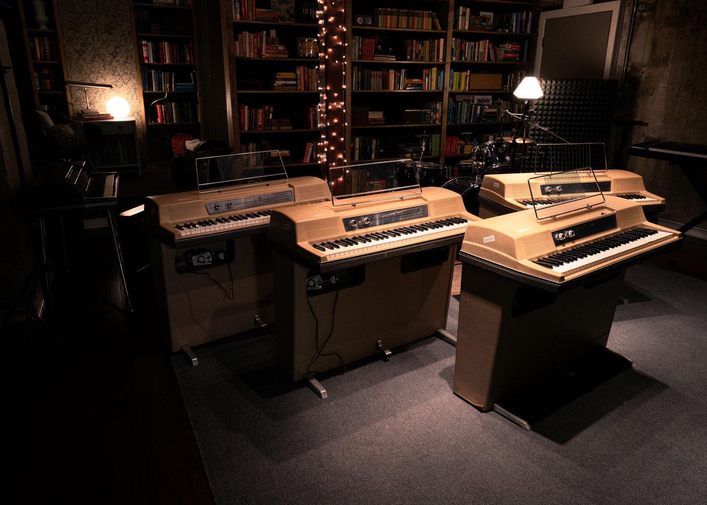 In Restoration: Four 206 Model Wurlitzers