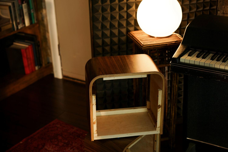 About the Vesper's Bent Wood Cabinet