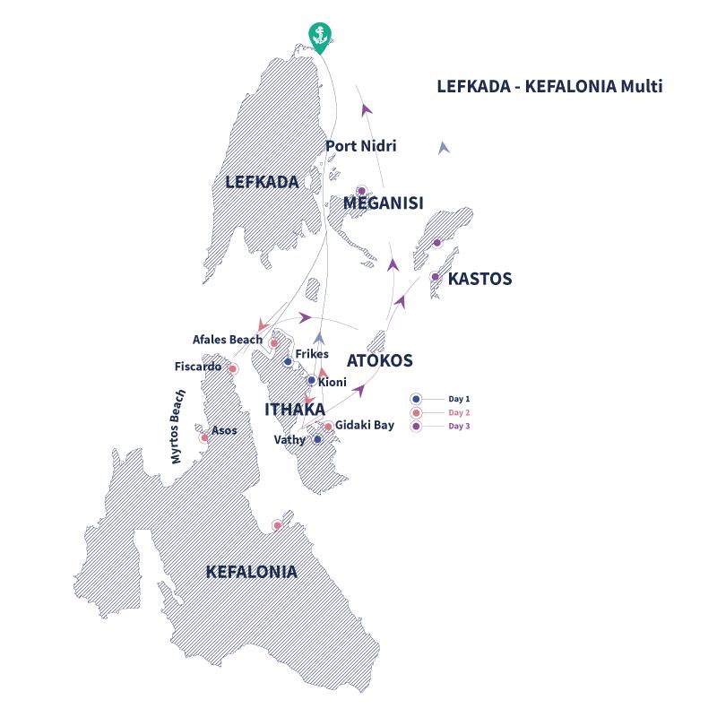 Lefkada-Ithaca-Kefalonia