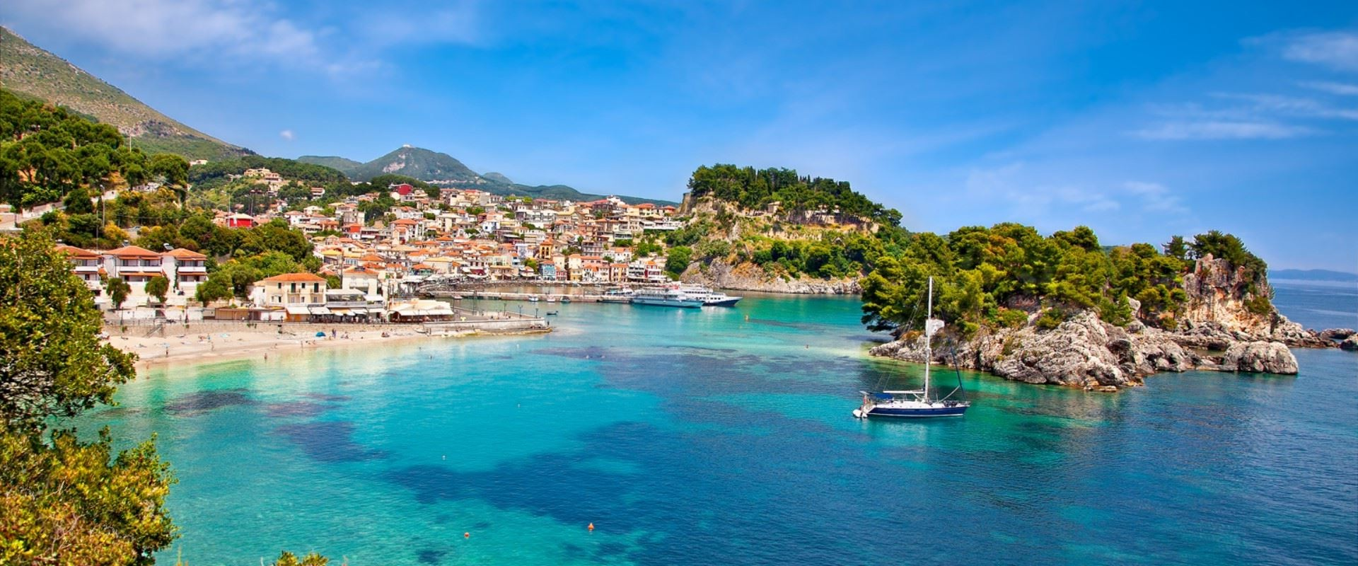 PARGA - BLUE GREEN WATERS