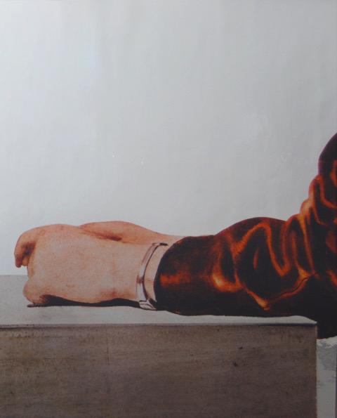 Michelangelo Pistoletto, from  Cartella B  portfolio, 1983