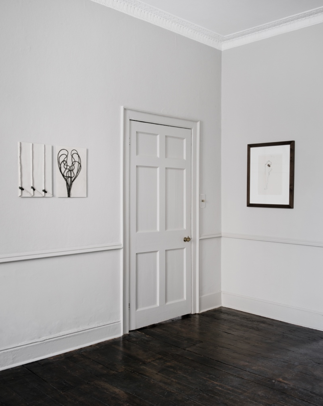 Installation view - Enrico David