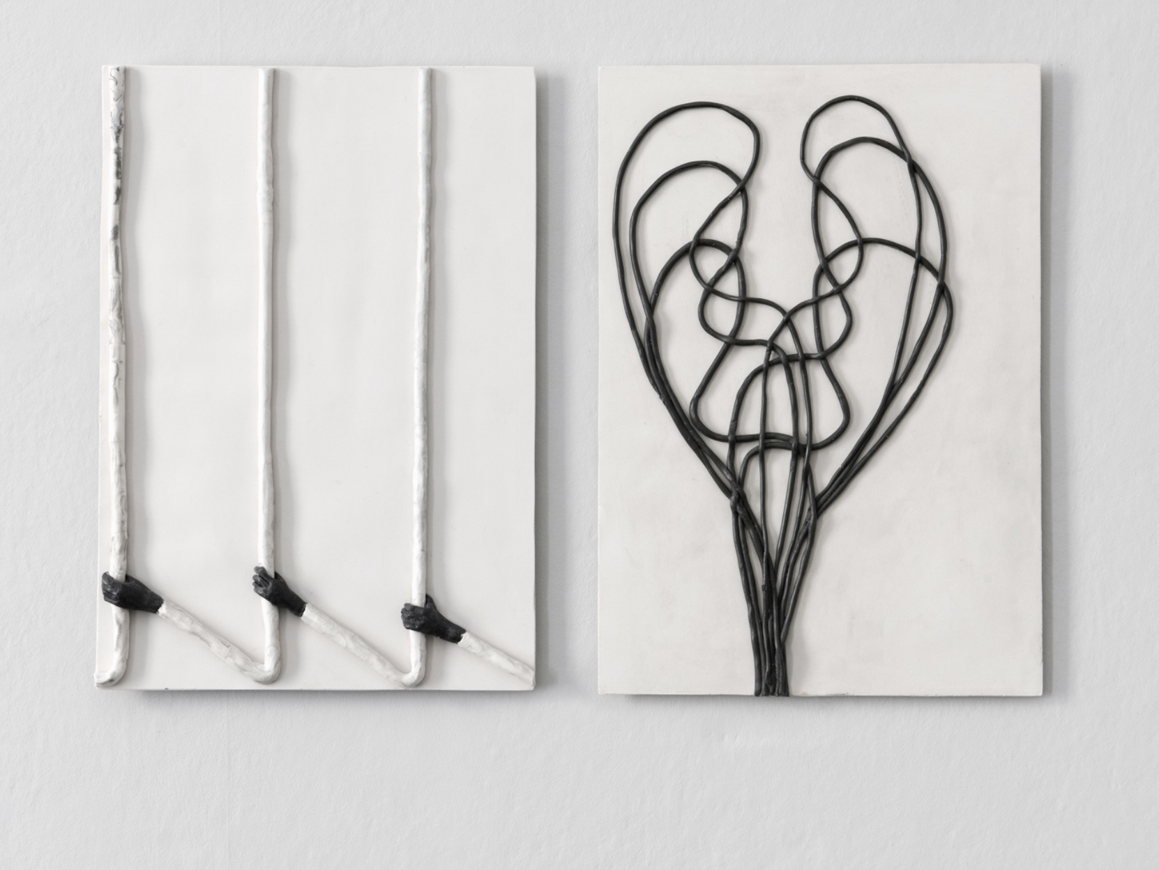 Enrico David   Untitled , 2014 Jesmonite, pigment, fibre tissue Cast 1 from an edition of 5 + 2 aps 42 x 30 x 2 cm