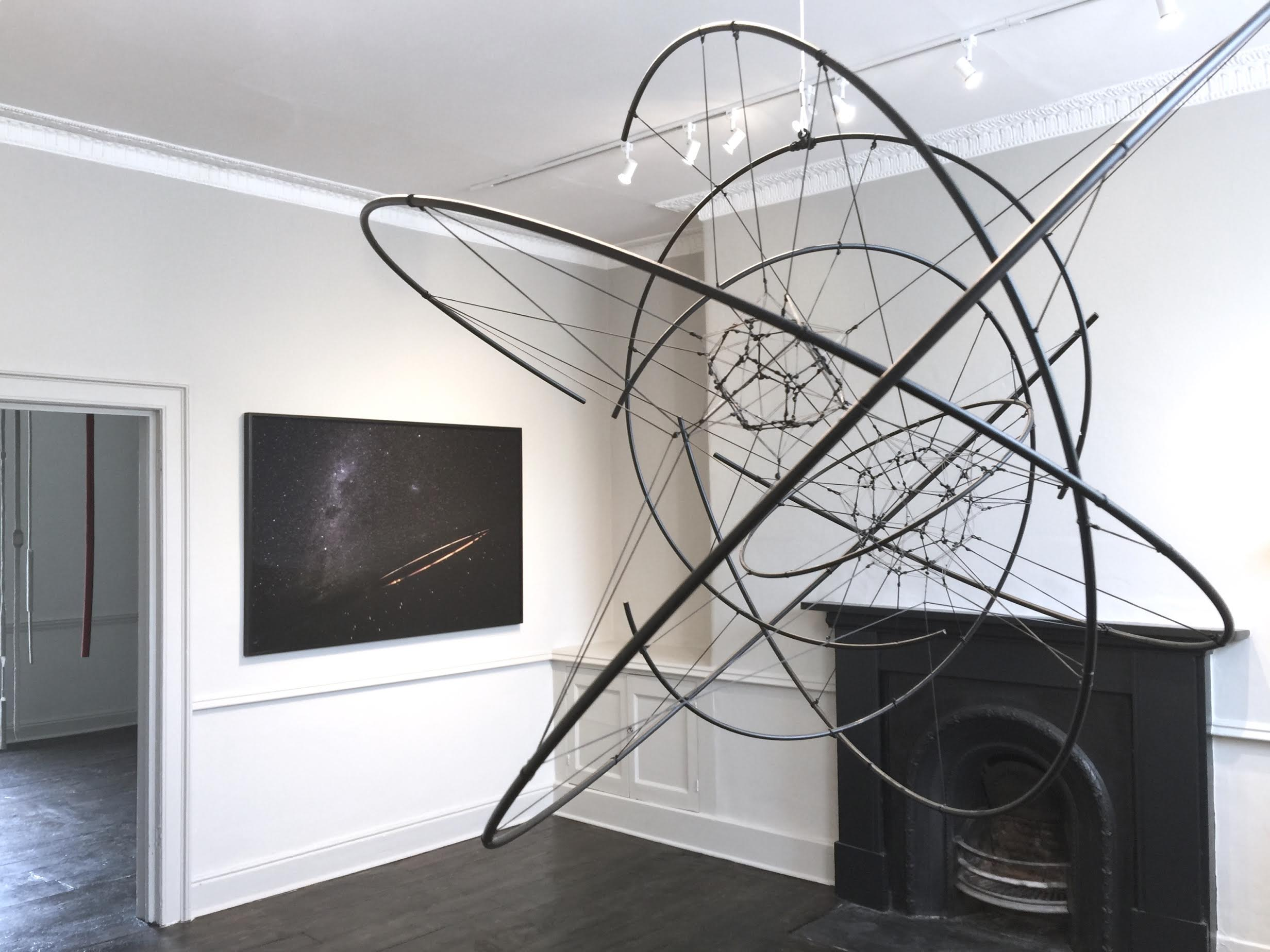 Installation view – Tomás Saraceno, Tonico Lemos Auad