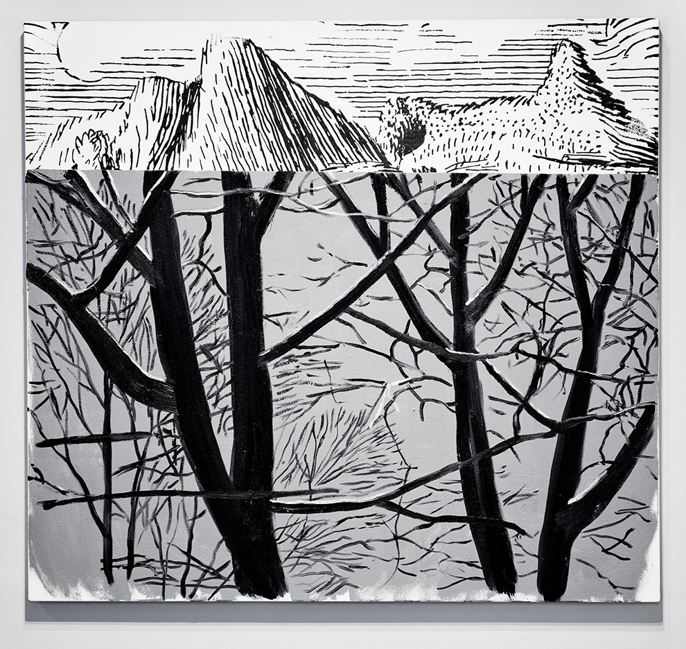 Dexter Dalwood , Marie-Henri Beyle ,2013, oil on canvas, 92 x 100 cm
