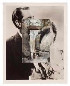 John Stezaker , High Rocks II, 2014,Collage,25.6 x 20.4 cm