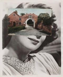 John Stezaker , Mask CXXIV , 2011, Collage,25.7 x 20.4 cm