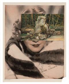 John Stezaker , Mask (Film Portrait Collage) CLXXXIV , 2015