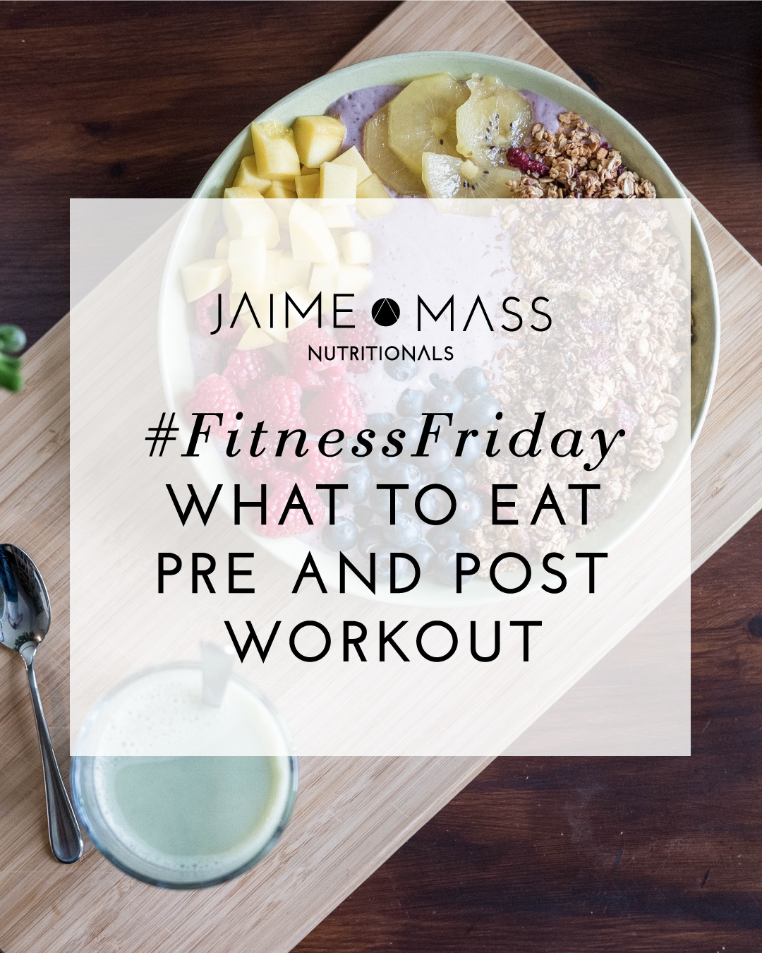 #FitnessFriday: What to Eat Pre- and Post-Workout
