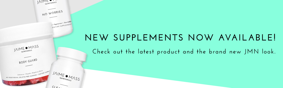 New Jaime Mass Nutritionals Product Line Now Available