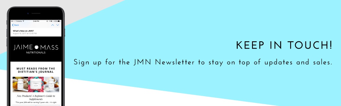 Jaime Mass Nutritional Newsletter