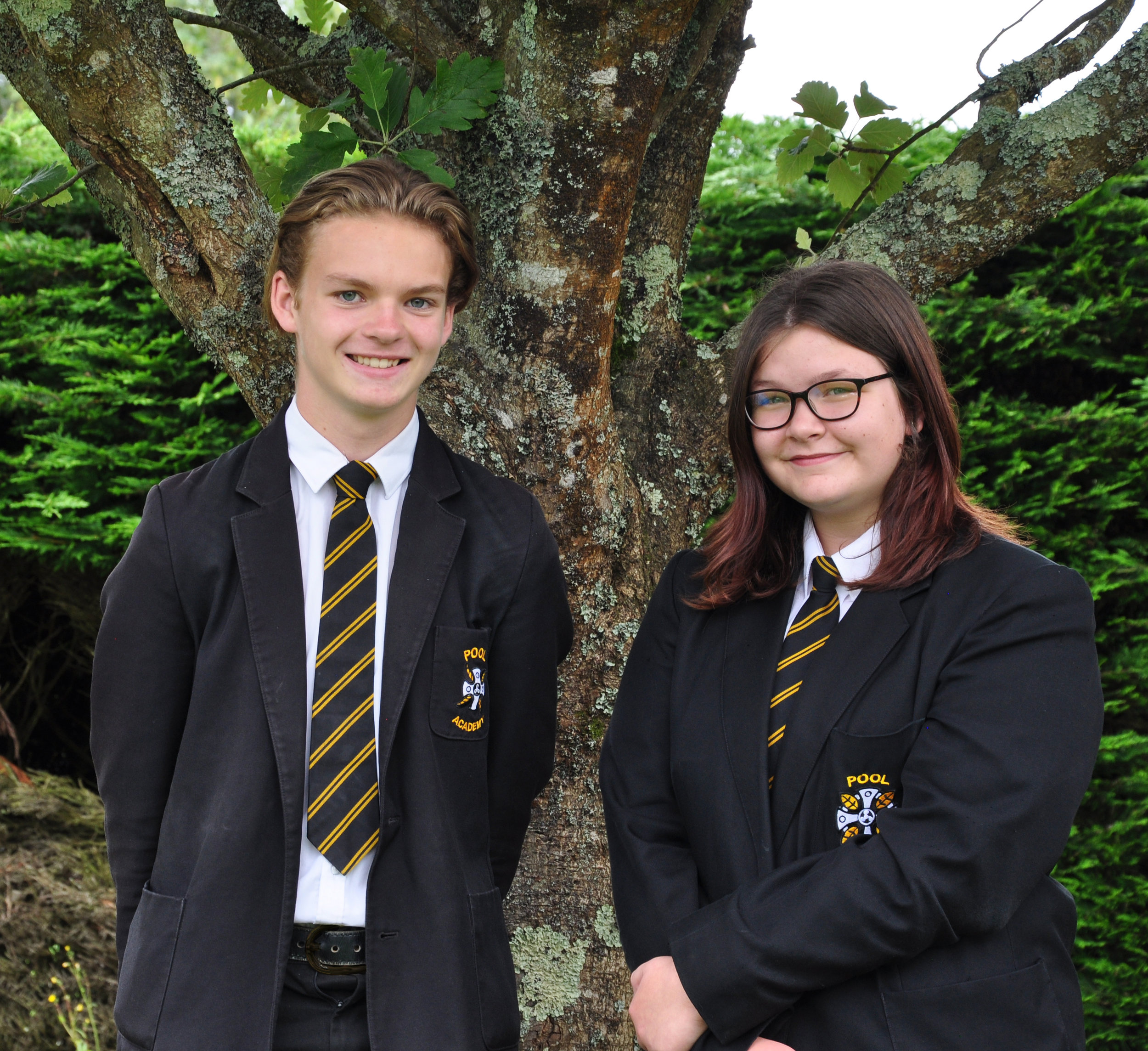 Head Boy and Head Girl for this academic year.