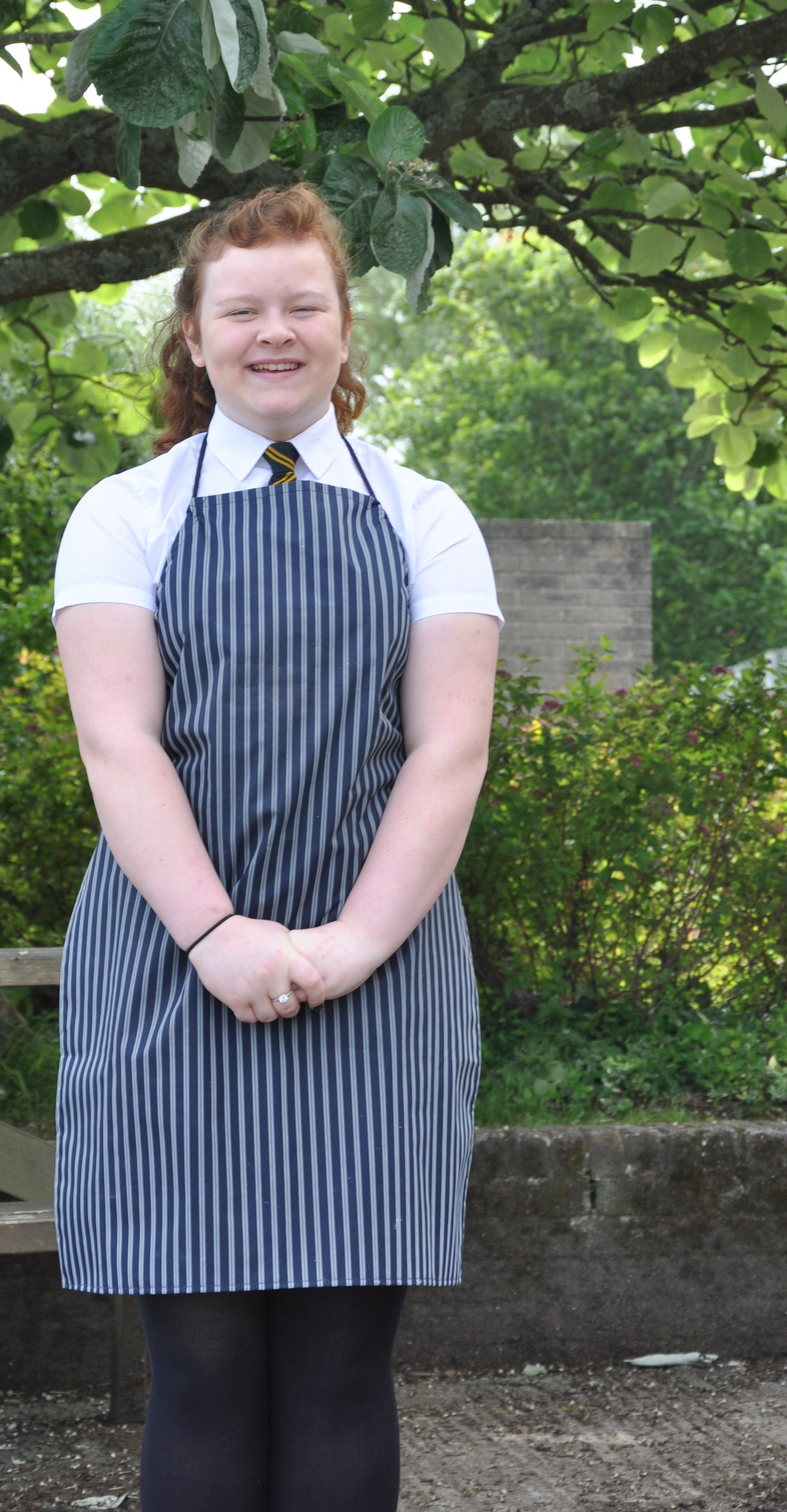 Emma did well after entering a chef competition the last academic year.