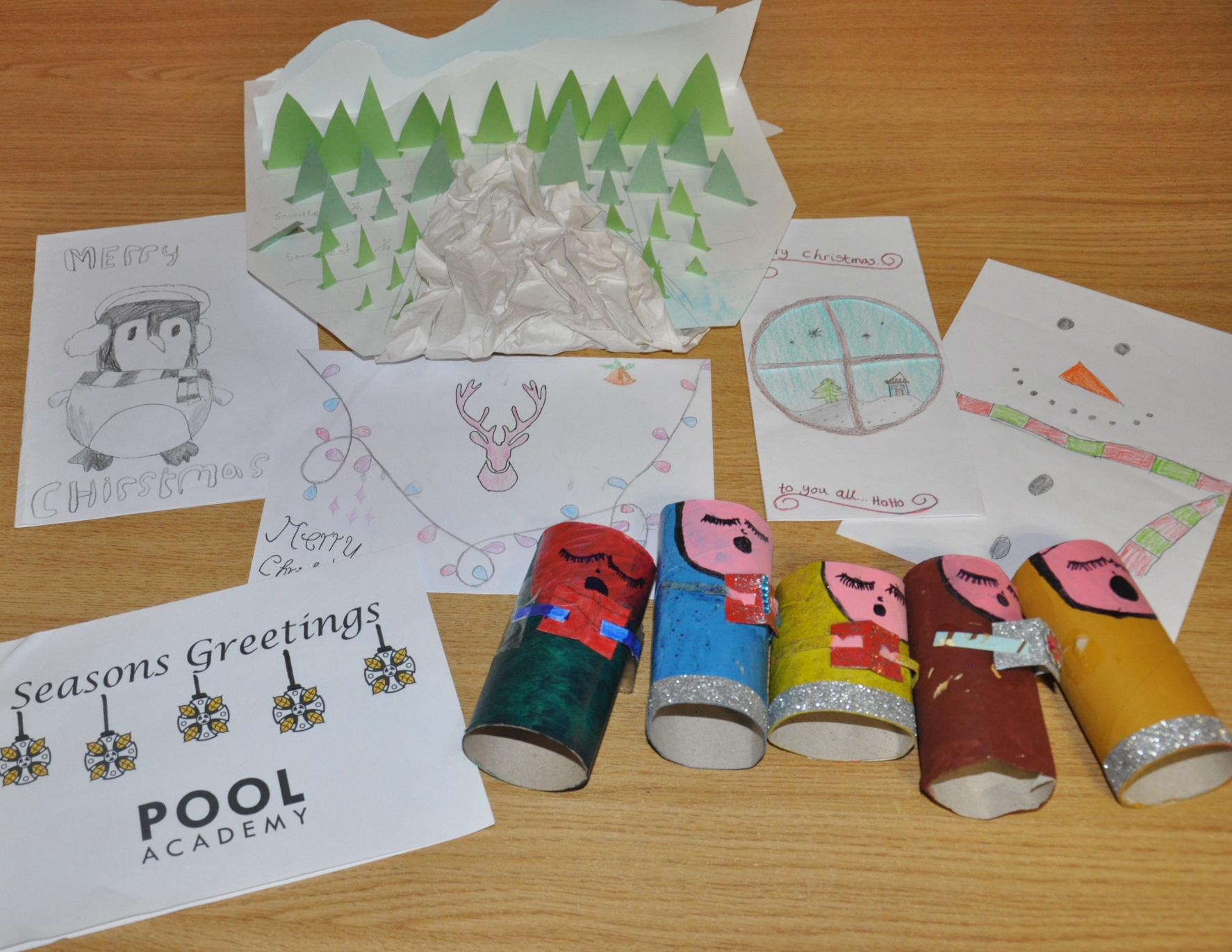 Some of the entries already handed in for the competition
