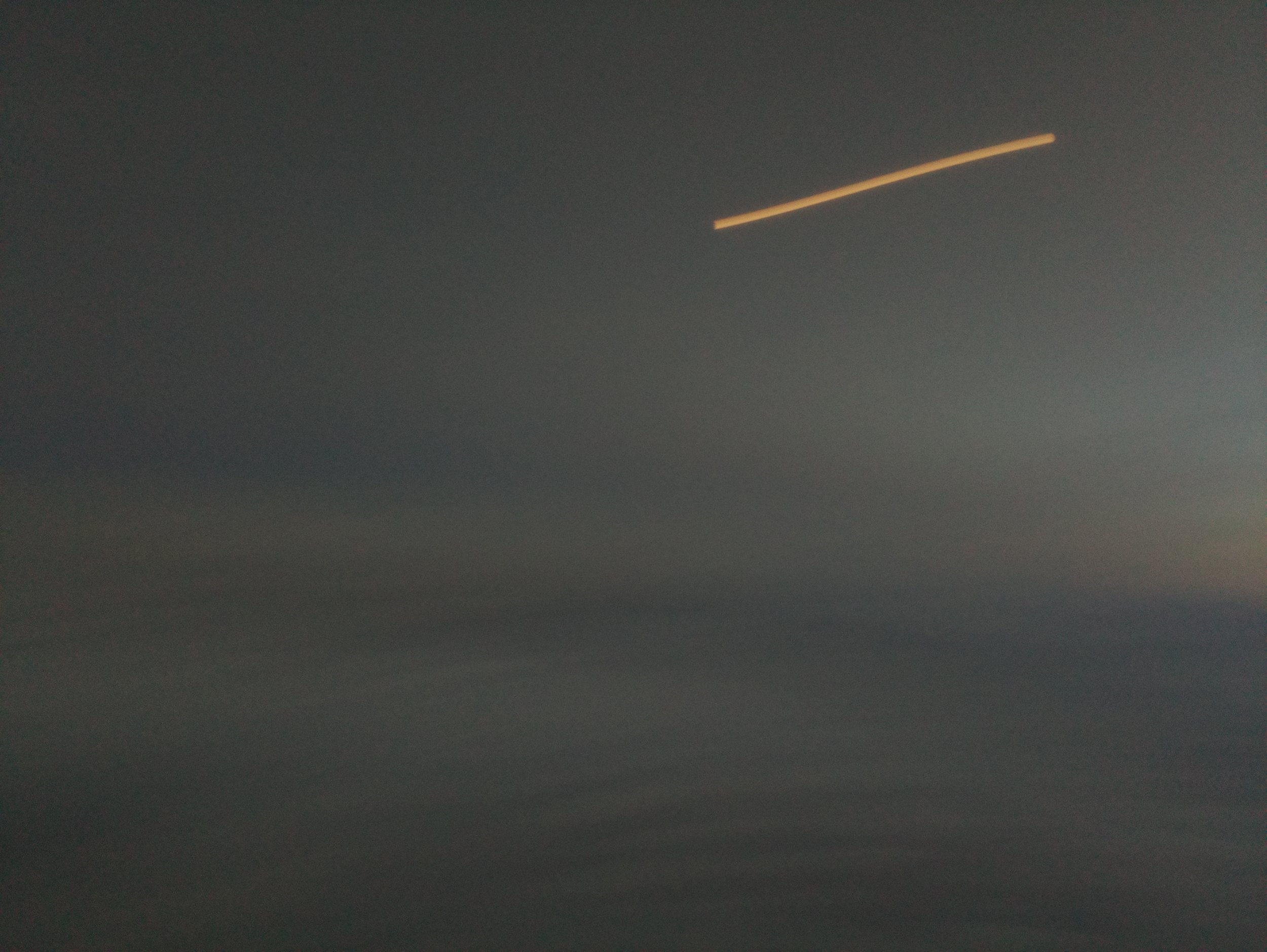 Mystery light captured by Buzz the Bear's camera