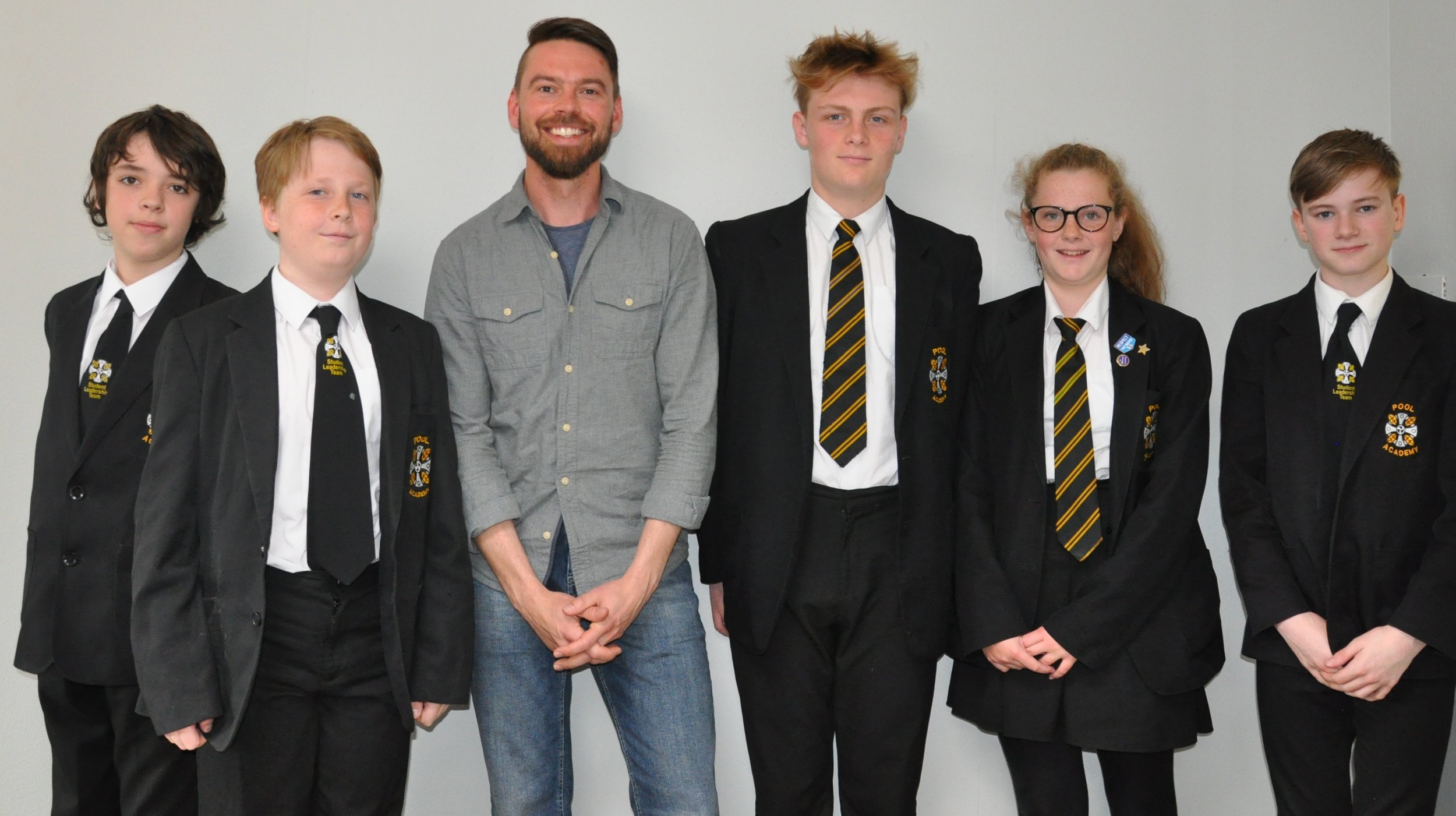 Students who met Kaj Skjervik from #loveportreath