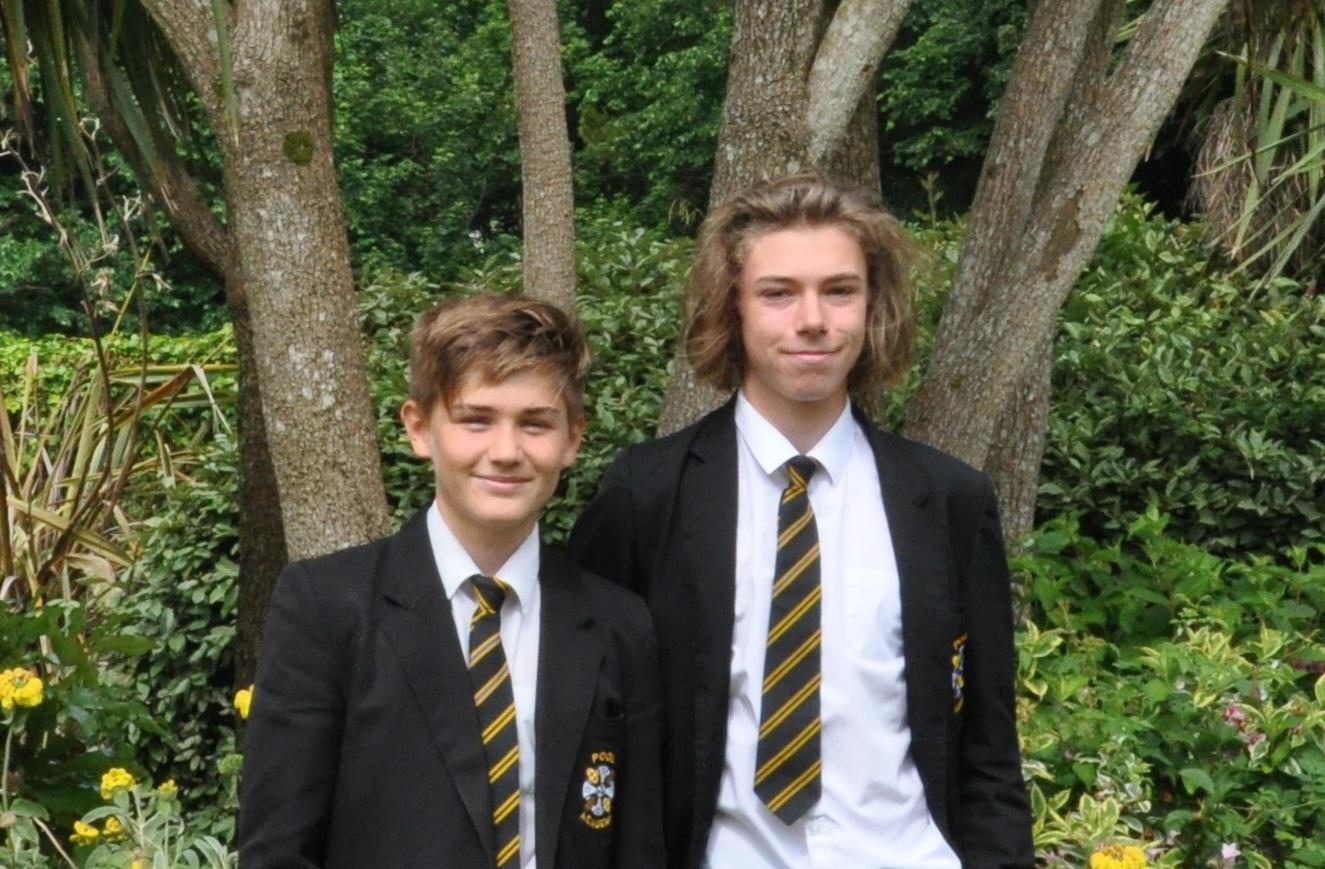 Tom and Xander