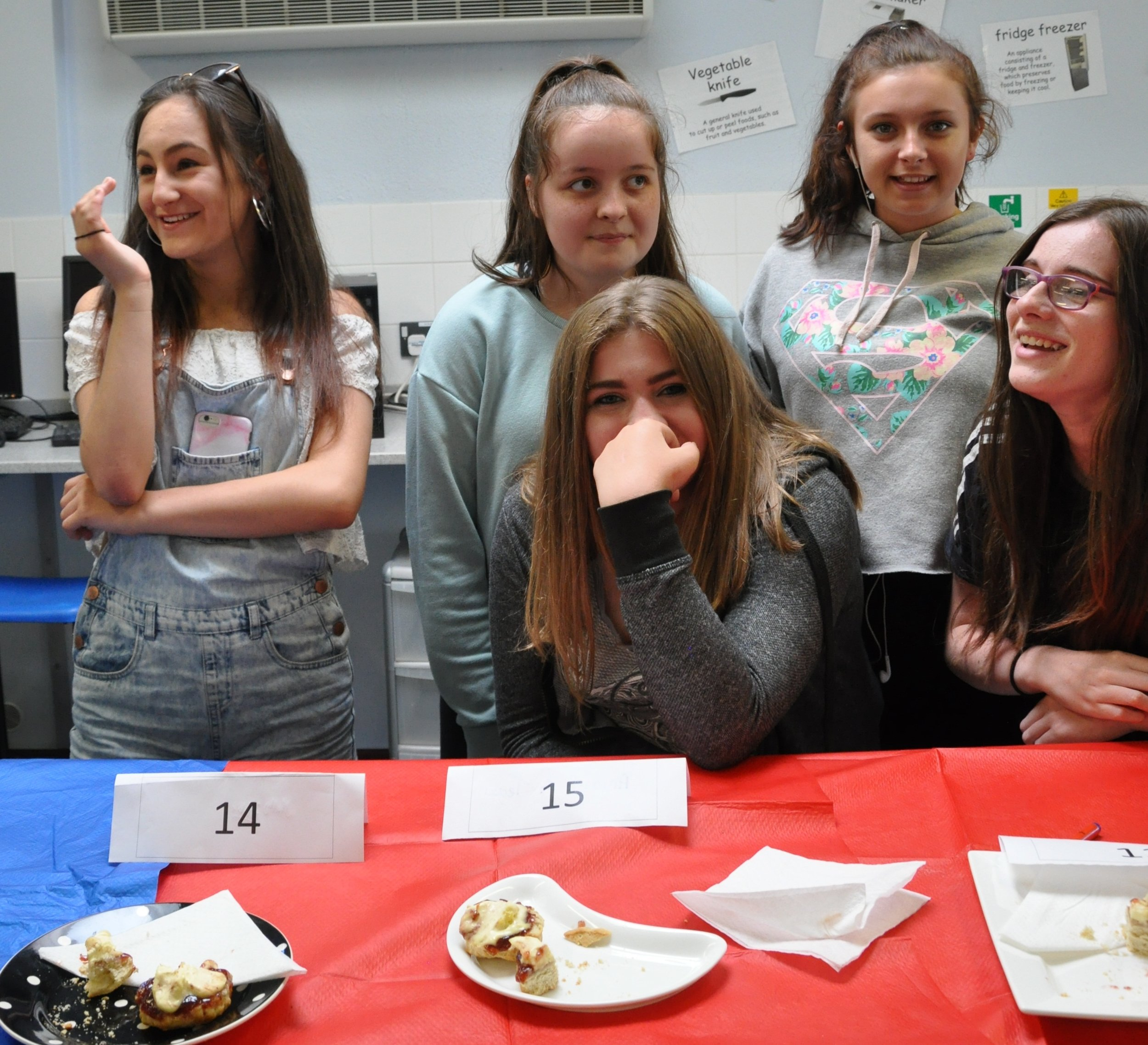 Well done to the students who came in second.