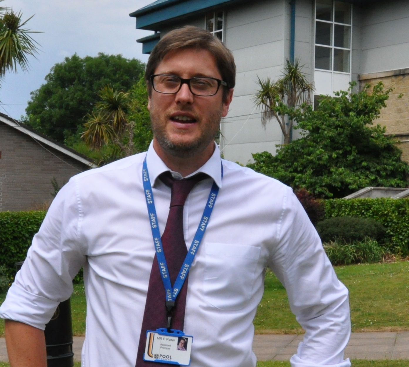 Mr Ryder is Head of English and Modern Foreign Languages.