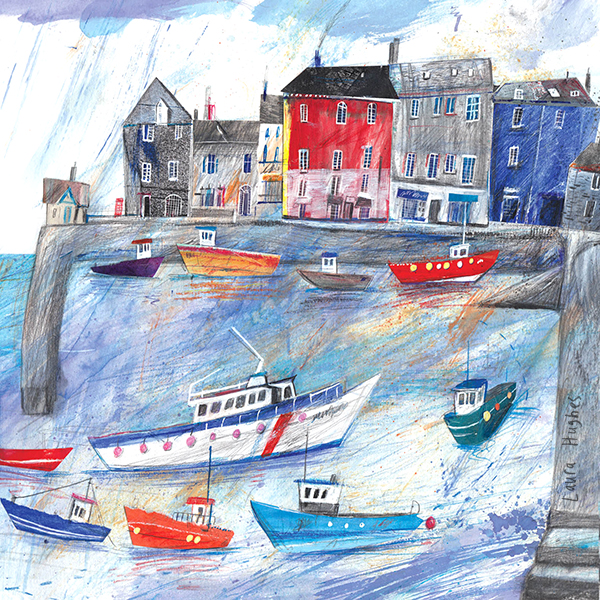 Padstow Harbour. For The Whistlefish Gallery