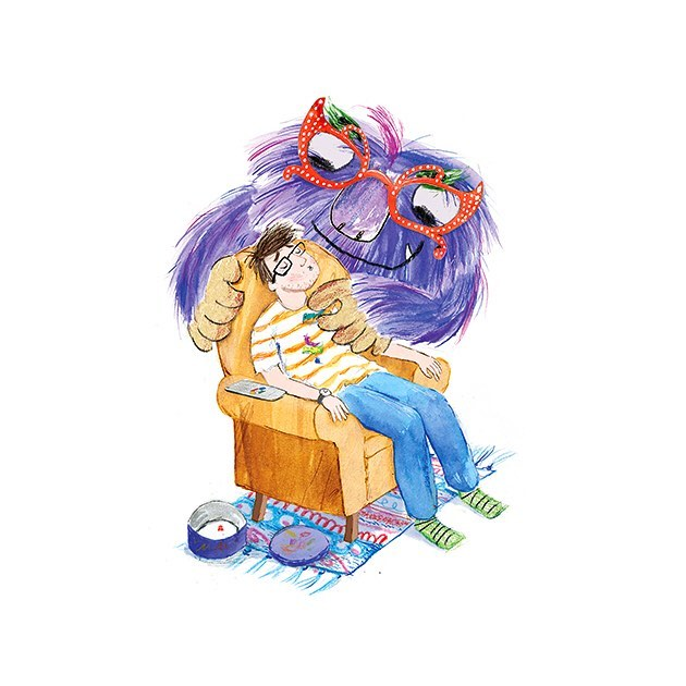 On my way to Wakefield for the EOCT/SLS Picture Book Award 2018. Thrilled that Ossett children have chosen The Chocolate Monster as one of their top 3 picture books of the year!