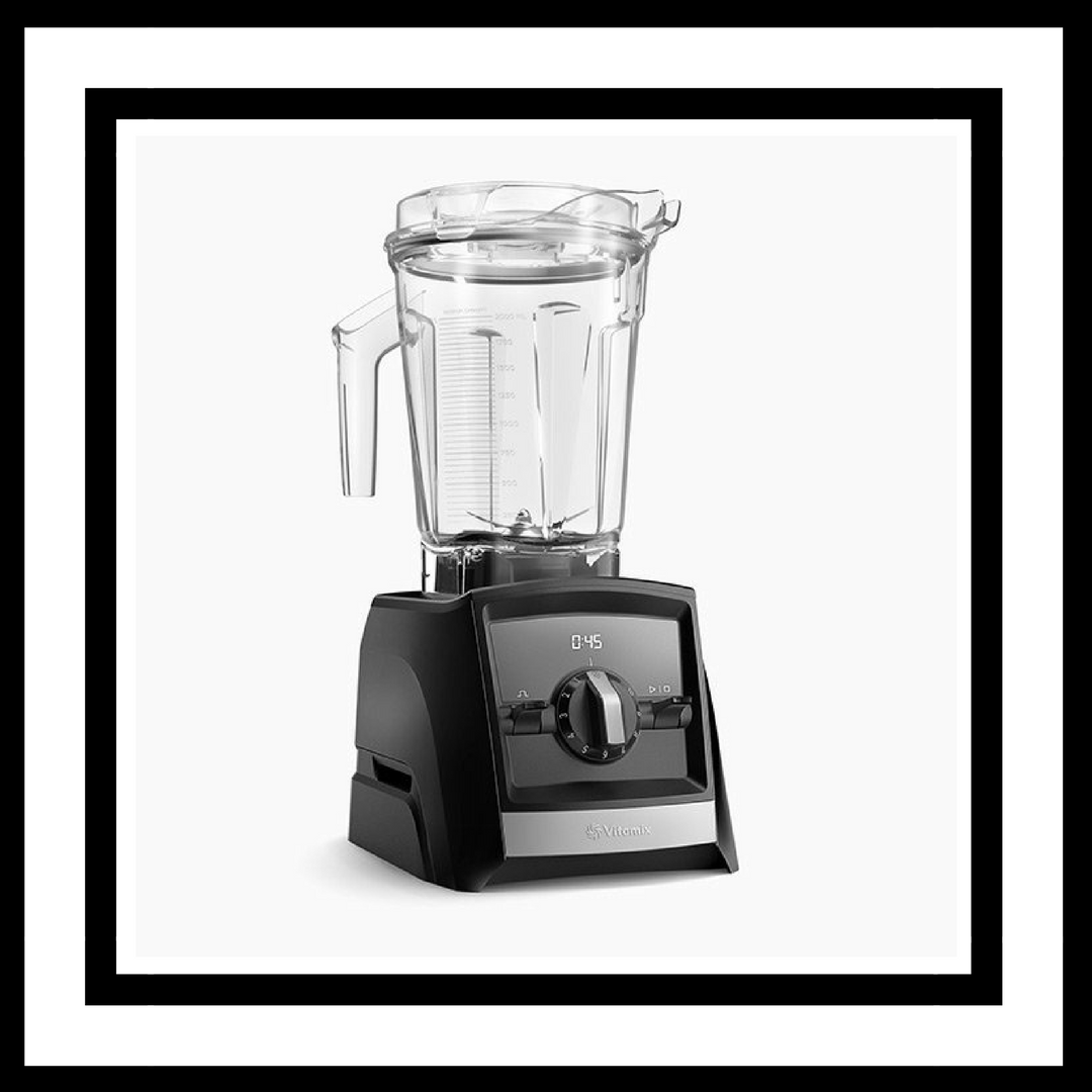Vitamix - This one is certainly at a higher price point than the other items on this list, but we truly believe this invest will be well worth it! The Vitamix 2300 is the one we are drawn to, but there are newer versions with more attachments etc. Great for smoothies, soups, salad dressings and juices this product cannot be beat!