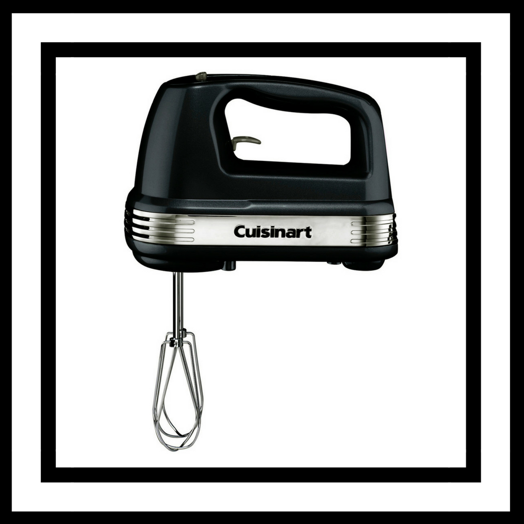 Hand Mixer - Whether you are an avid baker or not, we highly recommend having the Cuisinart 7-Speed Hand Mixer on hand at all times! You never know when your BFF will pop by and expect some homemade cupcakes!